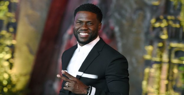 Comedian Kevin Hart hosted the Oscars 2019