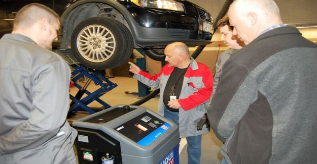 Commercial cooperation Omnia: Motivated car mechanic enough to work now – Omnia and Garage chain offer flexible learning co