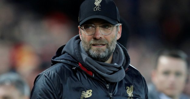 - Congratulations with the day to Liverpool and Klopp