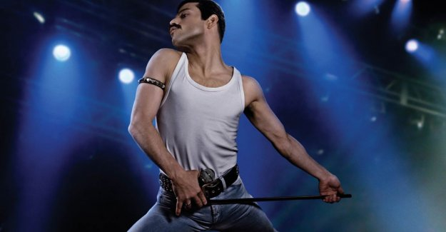 Crashdieet, neptanden and muscles grow: so transformed Rami Malek himself to Freddy Mercury