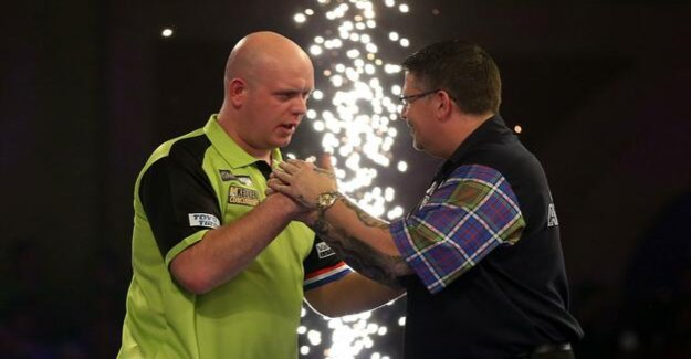 Darts championship : Van Gerwen with a Gala against Anderson - now Smith is waiting
