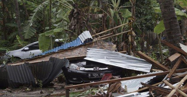 Death toll rises after tsunami – 168 dead