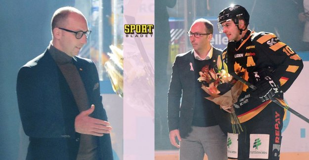 Director of sports in the SHL leaving after the season