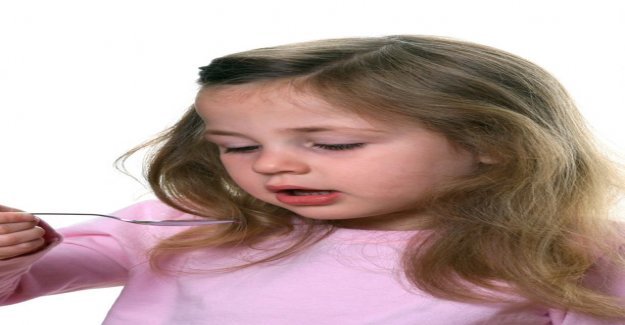 Do not give your child cough medicine or general cold remedies medicine - the risk of side effects