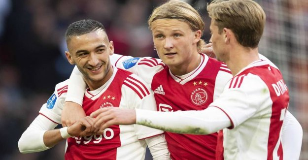 Dolberg bombed and got the lead role in the Ajax triumph