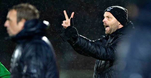 Drama after slutfløjt - League-coach says stop