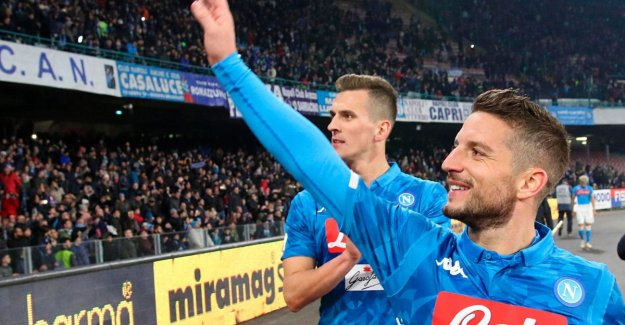 Dries Mertens kicks Napoli with handsome winner in minute 88 still partying new year in