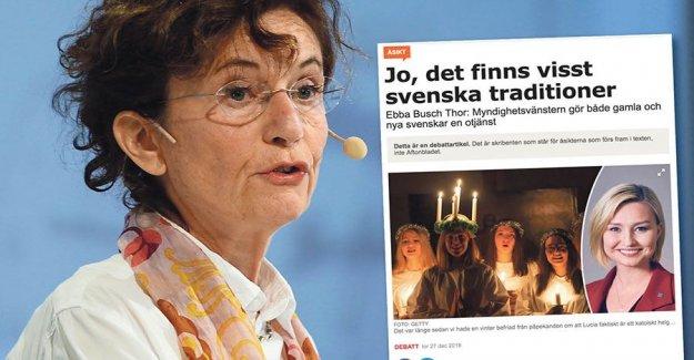 Ebba Busch Thor the ranks of nättrollen