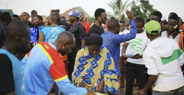 Ebola-shock in the Congo-the choice: 1.2 million will not get the vote before the president is sworn in