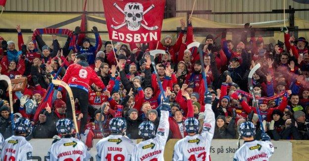 Edsbyn broke the VSK's suite – Villa new league leaders
