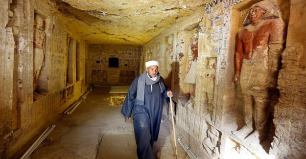 Egypt announces discovery of the 4,400-year-old tomb