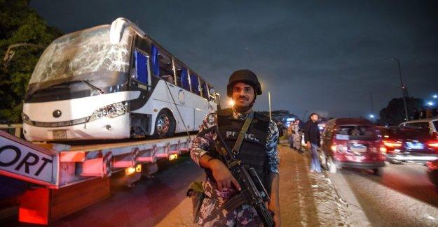 Egypt's police after bussdådet: We have killed 40 terrorists