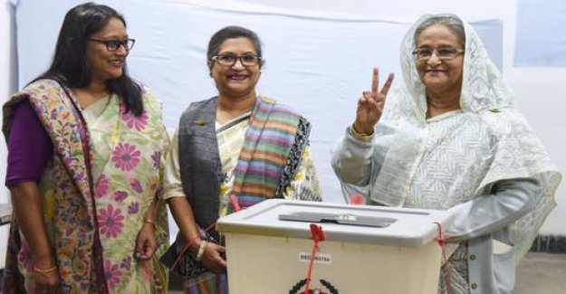 Election in Bangladesh: the incumbent before the controversial victory