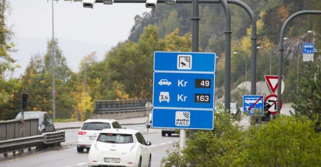 Electric cars in Bergen must pay the toll
