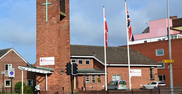 English church close: - It is a little sad