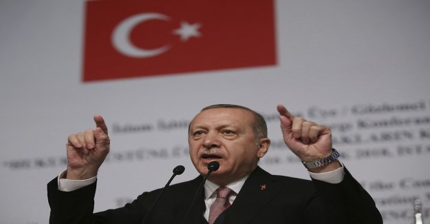 Erdogan: Turkey ready for the new Syrieninsats