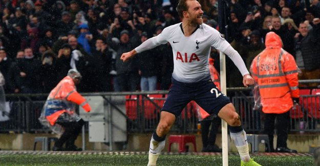Eriksen delivered to Tottenham, only in ultimate slot the code of laagvlieger Burnley know to crack