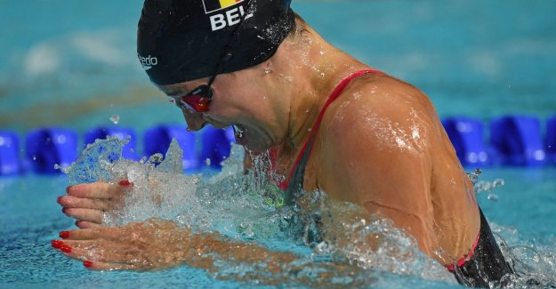 Fanny Lecluyse conquered world swimming CHAMPIONSHIPS bronze in 200m breaststroke