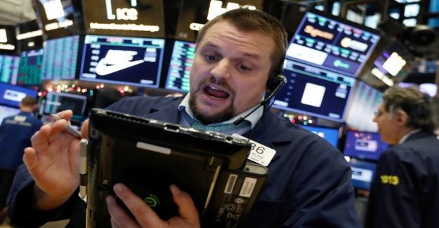 Fears of U.S. policy for violent stock market turmoil