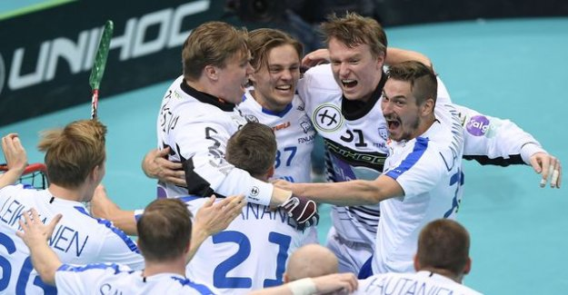 Finland is the world champion! Sweden would crush floorball championships-the finals