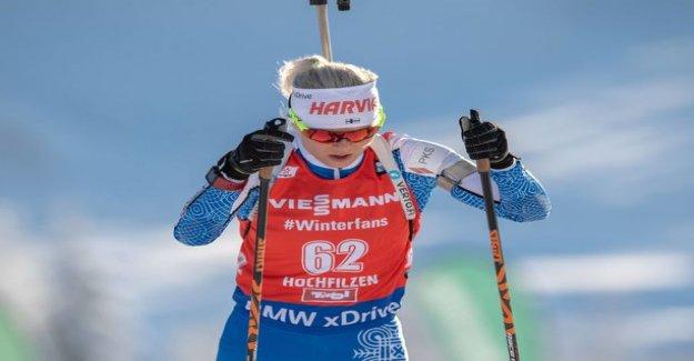 Finnish biathletes far away from the tip of the messages - Kaisa Mäkäräinen on the sidelines