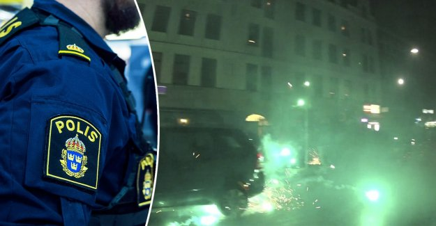 Fireworks and firecrackers problems for the police