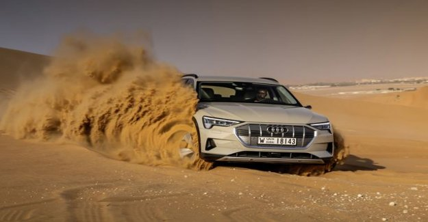 First test drive in the Audi e-tron quattro: Whisper quiet and luxury battery electric car