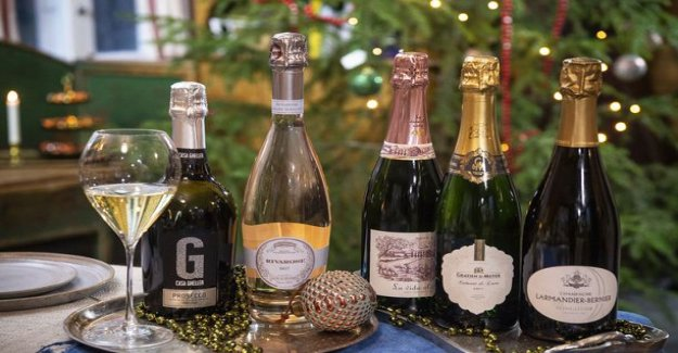 Five amazing sparkling wine: the bullseye, which should open before the rockets