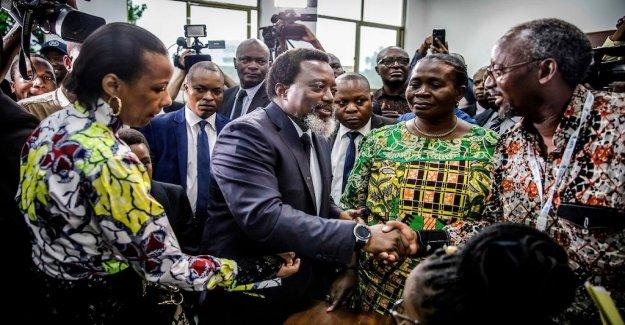 Flood and röststrul – choice started in Congo Kinshasa