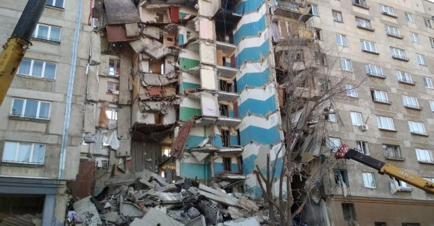 Four Dead and many Missing after a gas explosion in a residential building