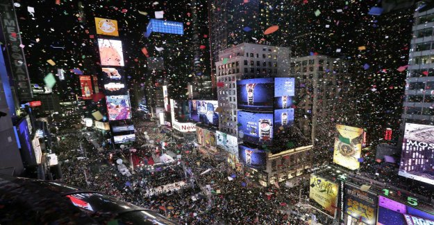Freedom of the press in focus at the new year's eve party in New York