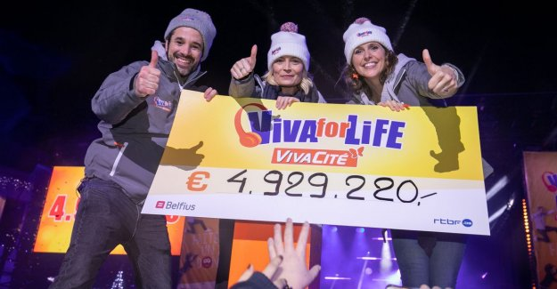 French-speaking Music For Life fetches record amount of almost 5 million euro on
