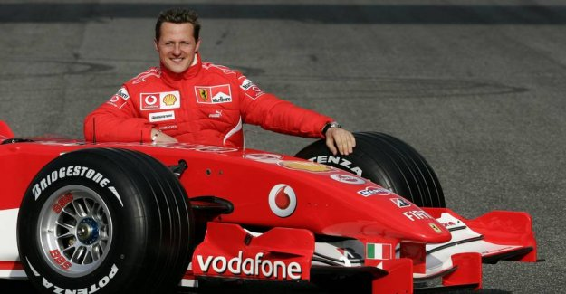 German newspaper reveals: How to live Schumacher in the day