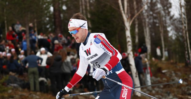 Graabak with strong world cup competition