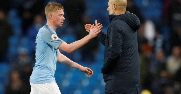 Guardiola is in doubt whether De Bruyne fit touch for top match against Liverpool, Kompany: We must be ready for a fight against Liverpool