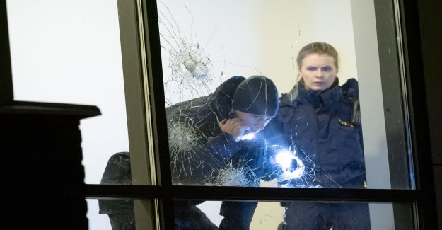 Gunfire towards residential building in Malmö