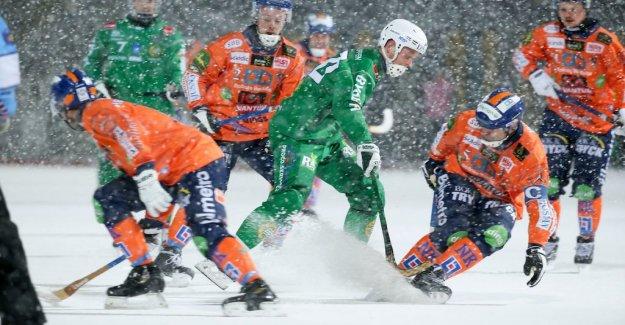 Hammarby lost despite scored in the blizzard