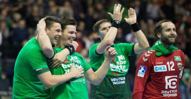 Handball : In the case of the foxes Berlin there is nothing to complain