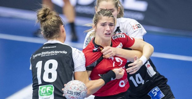 Handball-star embarrassed after the panic downturn: - is not Going to sleep in the night
