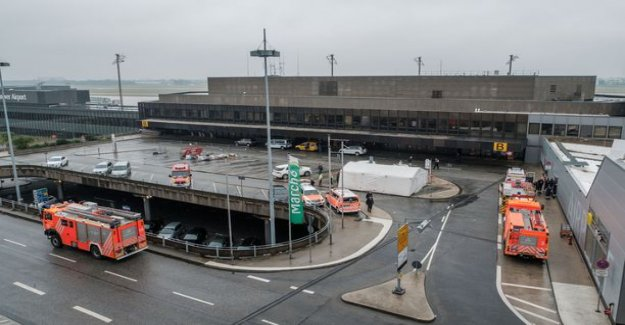 Hannover airport aircraft mix guy driving was under the influence of drugs – the air traffic was re-opened
