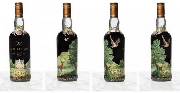 Here is the world's most expensive whisky