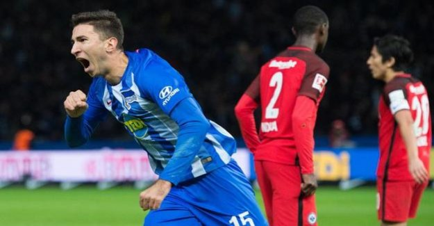 Hertha BSC - Eintracht Frankfurt : With luck and Grujic