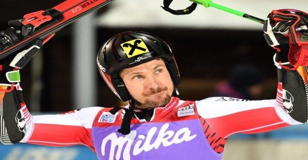 Hirscher wins first Parallel race