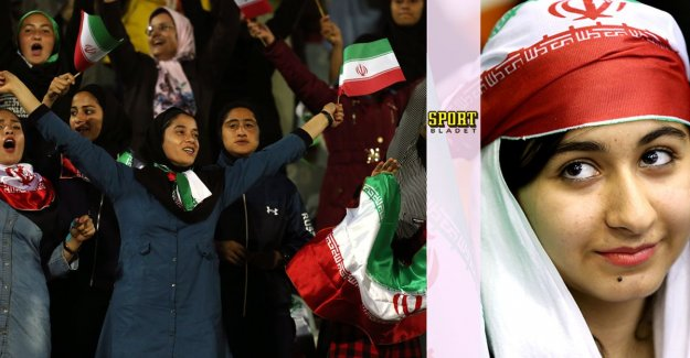 Historically: the Iranian women's national get to play on the national arena