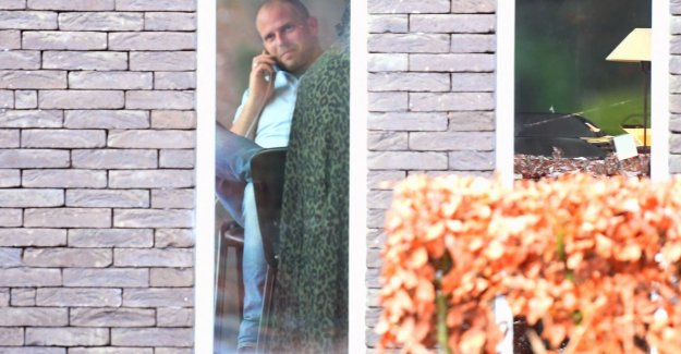 House of Theo Francken released after he powder letter received and opened