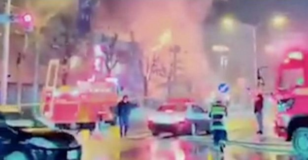 Huge explosion at japanese restaurant: 41 wounded