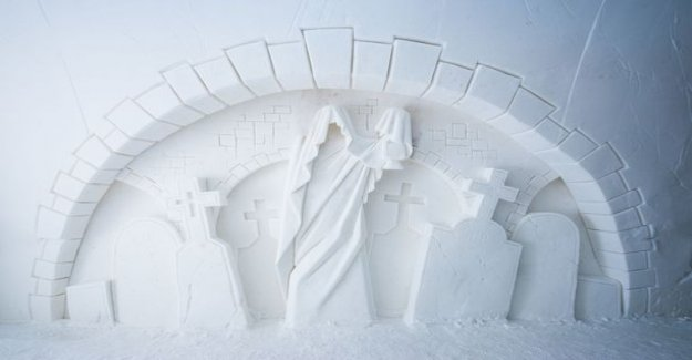 Hui! Kemi snow castle is this winter in a haunted castle