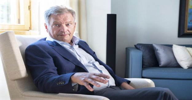 IS: president Niinistö to buy a hundred square-lakeside villa in Western-new country