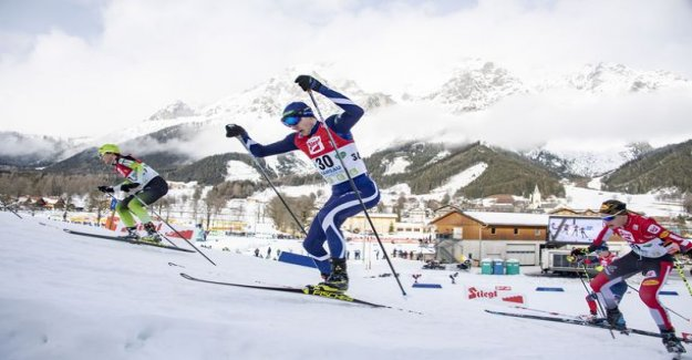 Ilkka Herola made a spectacular rise of 19 places up the ski leg!