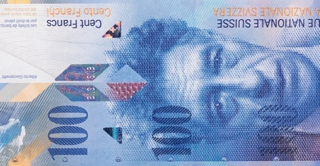 In the Canton of Valais false 100-franc notes are in circulation
